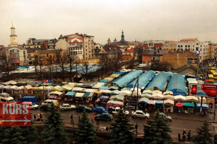 Ринок Пятачок фірми Траян в Івано-Франківську