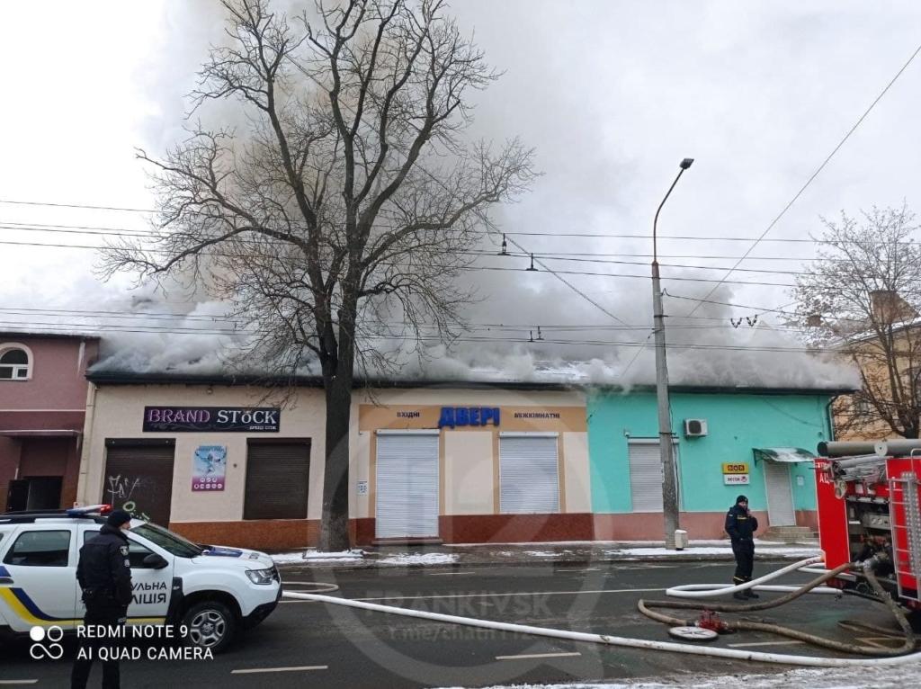 На Лепкого велика пожежа, рух вулицею перекрито. ВІДЕО 2