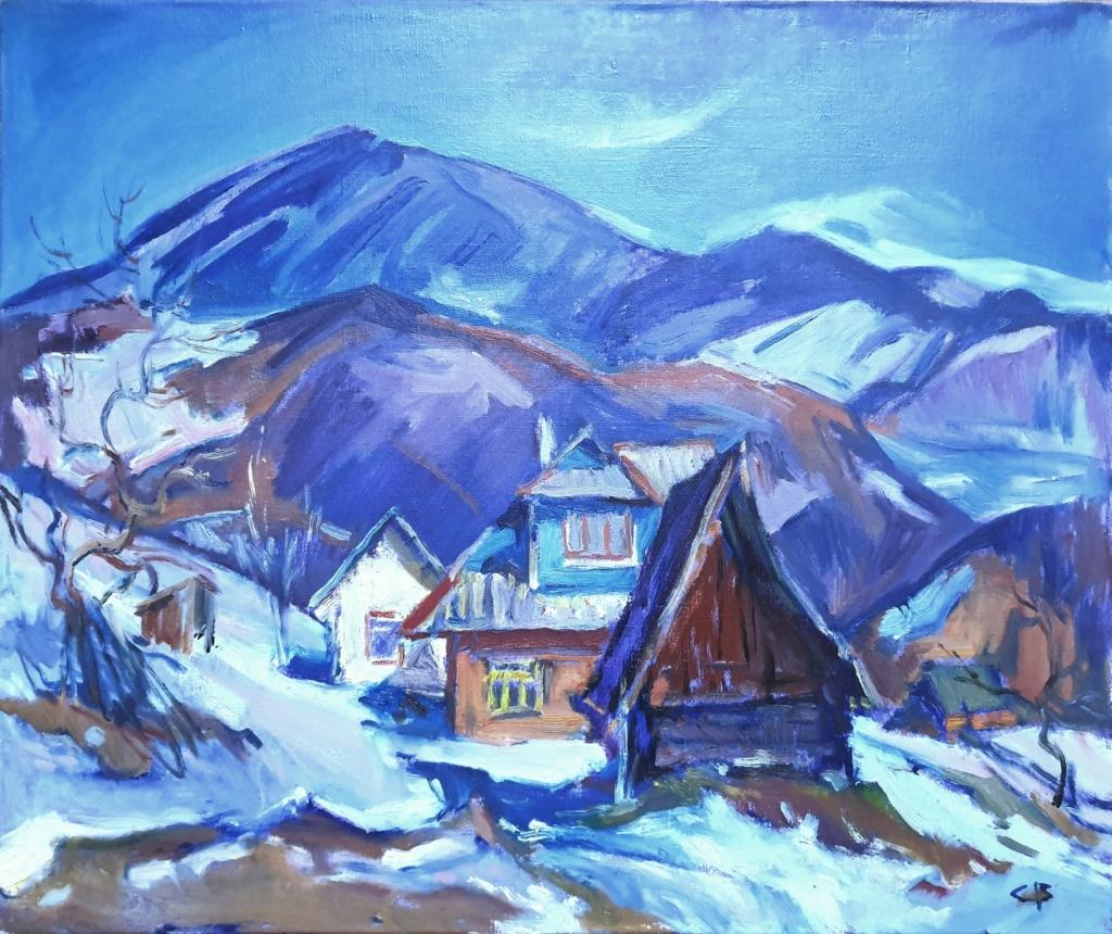 Прикарпатські художники виставляють на аукціон картини, щоби допомогти онкохворому колезі 4