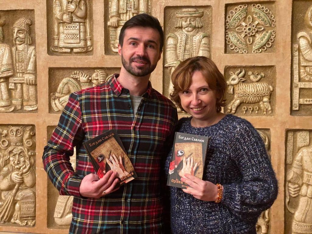 """Богдан Савлюк презентував свій дебютний роман із """"теплими"""" героями 2"""