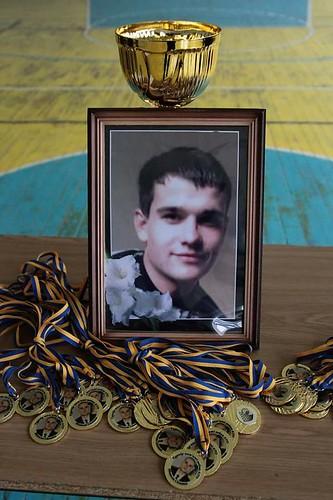 """На Косівщині вшанували пам'ять 22-річного """"кіборга"""" 2"""