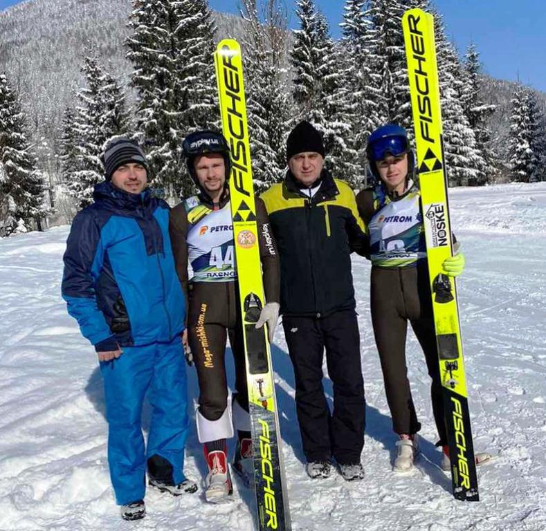 Прикарпатець став чемпіоном України зі стрибків на лижах 1