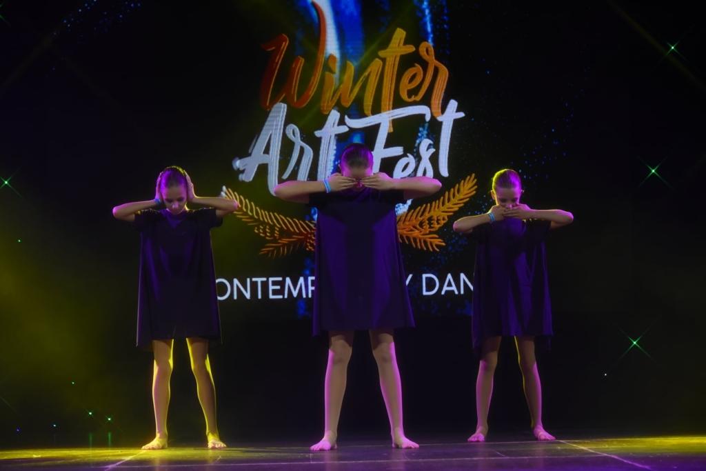 Франківці привезли 9 золотих медалей з WINTER ART FEST 1