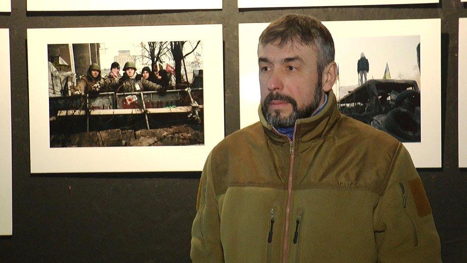 Майдан, історія майбутнього: у Франківську відкрили документальну виставку про Революцію Гідності 2