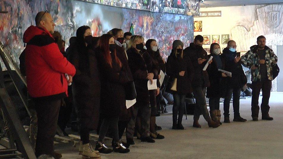 Майдан, історія майбутнього: у Франківську відкрили документальну виставку про Революцію Гідності 3