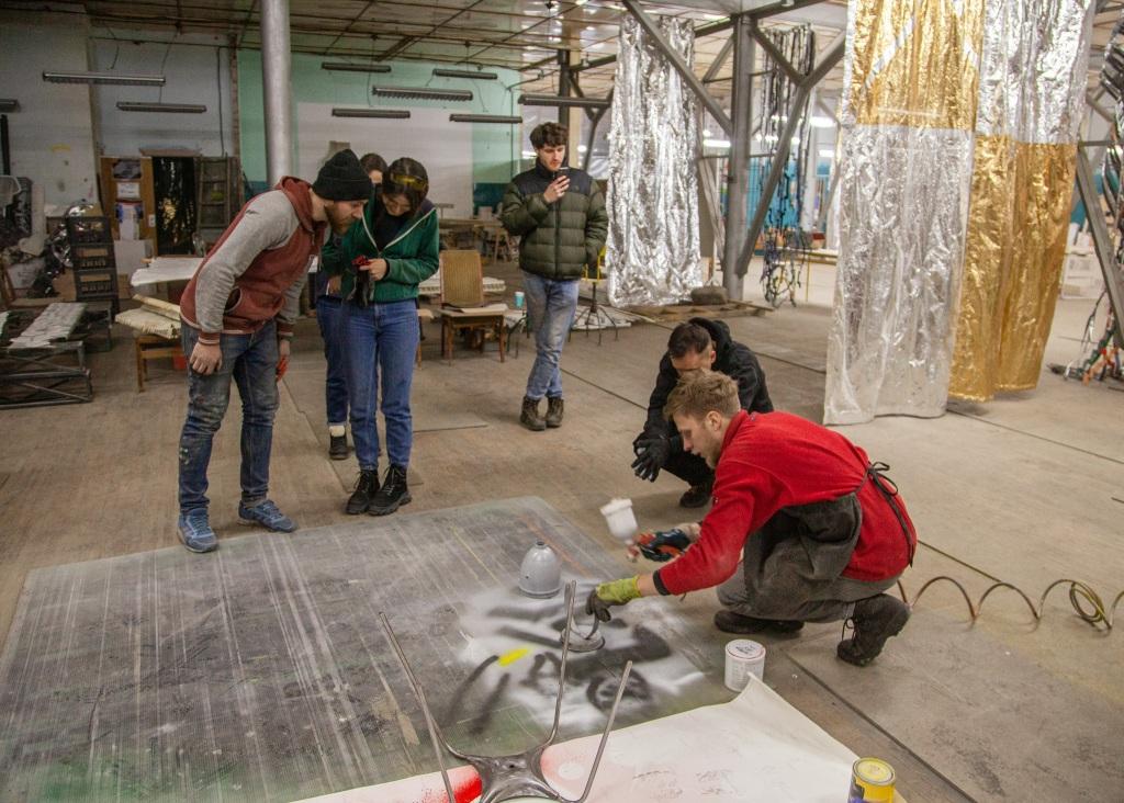 воркшоп у Парасольці - ремонт старих речей заводу