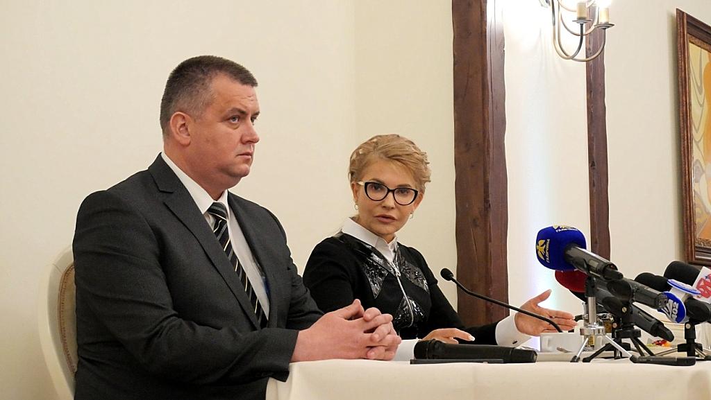 Юрій Голіней заручився підтримкою Юлії Тимошенко на довиборах до Верховної Ради