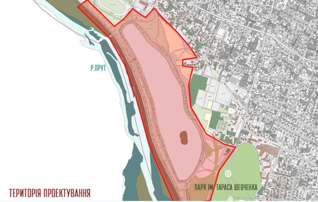 У Коломиї за  найкращий проєкт благоустрою біля озера пропонують 50 тисяч гривень 1