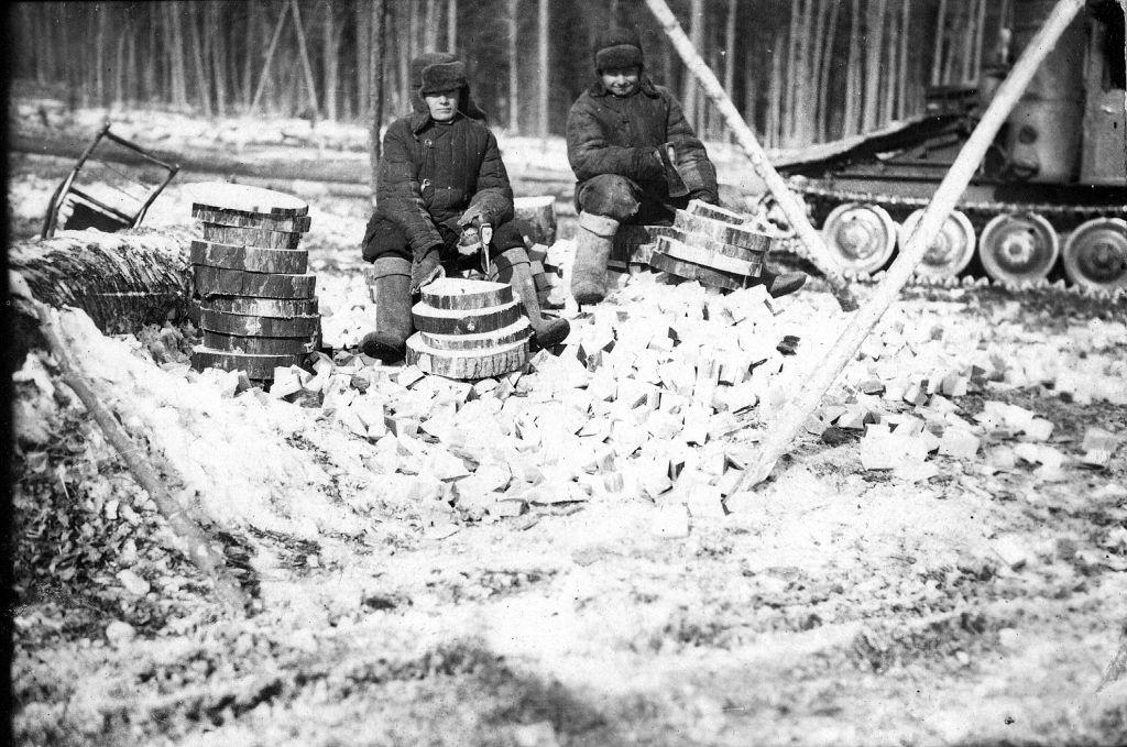 Кочерган Василь на засланні в Сибіру внаслідок операції Північ