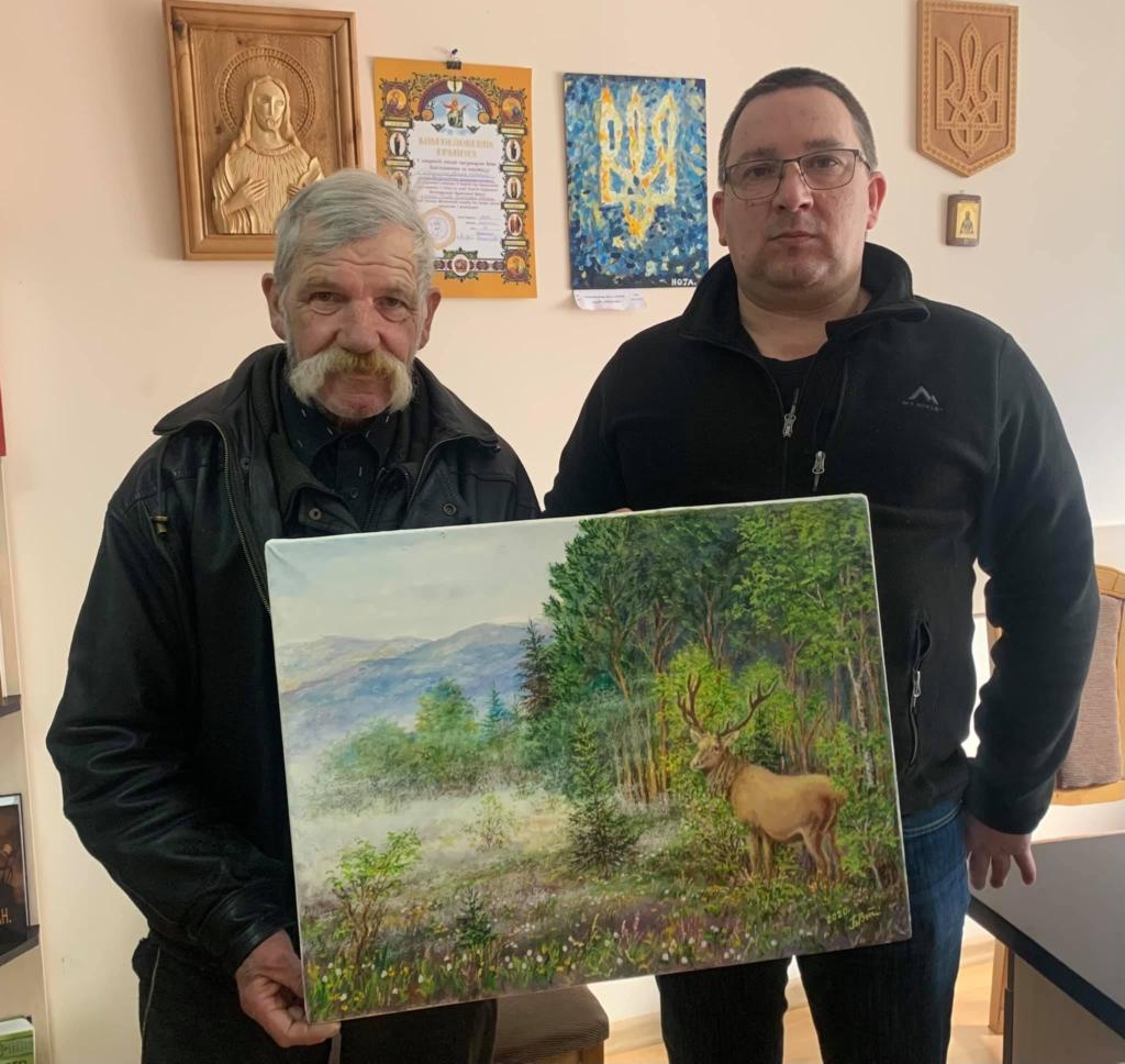 Франківському художнику, який був безхатьком, безкоштовно відновили зір, а на зібрані гроші куплять фарби 1