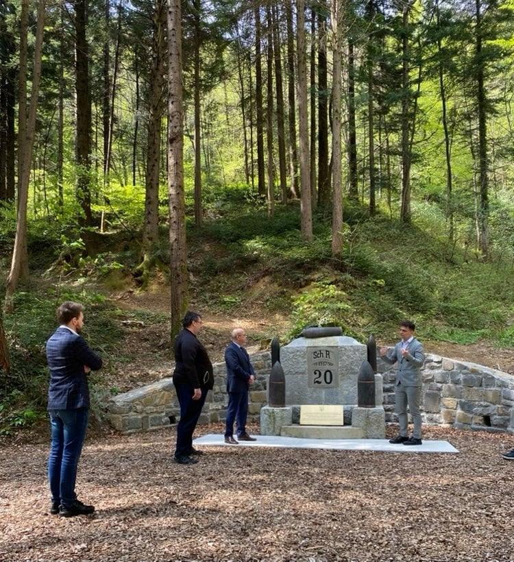 """Словенія відновила меморіал воїнам 20-го піхотного полку """"Станіслав"""""""