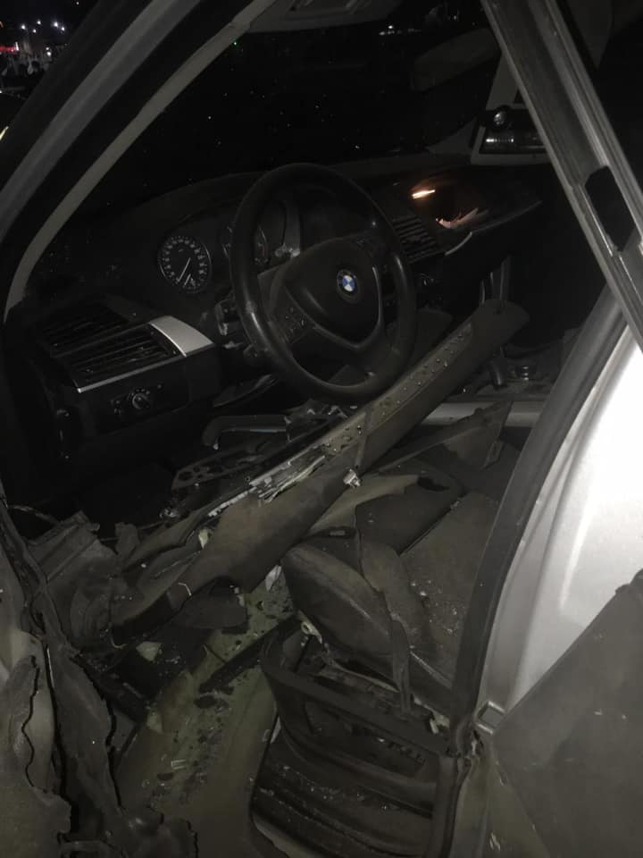 Розстріляний з гранатомета BMW належить підприємцю Тарасу Белзу 1