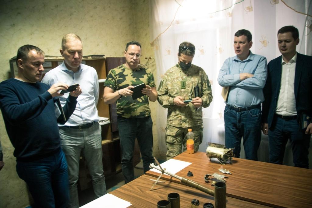 """Побачити війну: """"десятка"""" на передовій приймала послів Естонії, Латвії і Литви 1"""