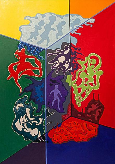 У Франківську відкрили виставку картин кольоротерапії 3
