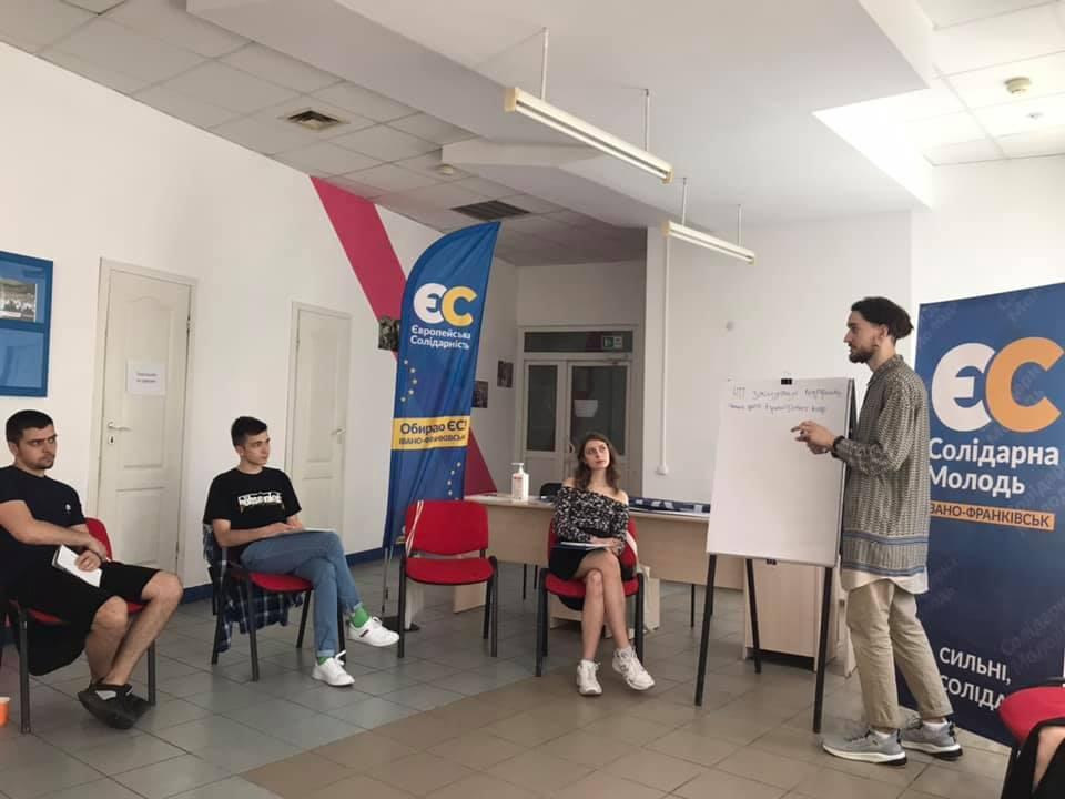 У Франківську провели дебатний табір Солідарної молоді «Debate UP» 5