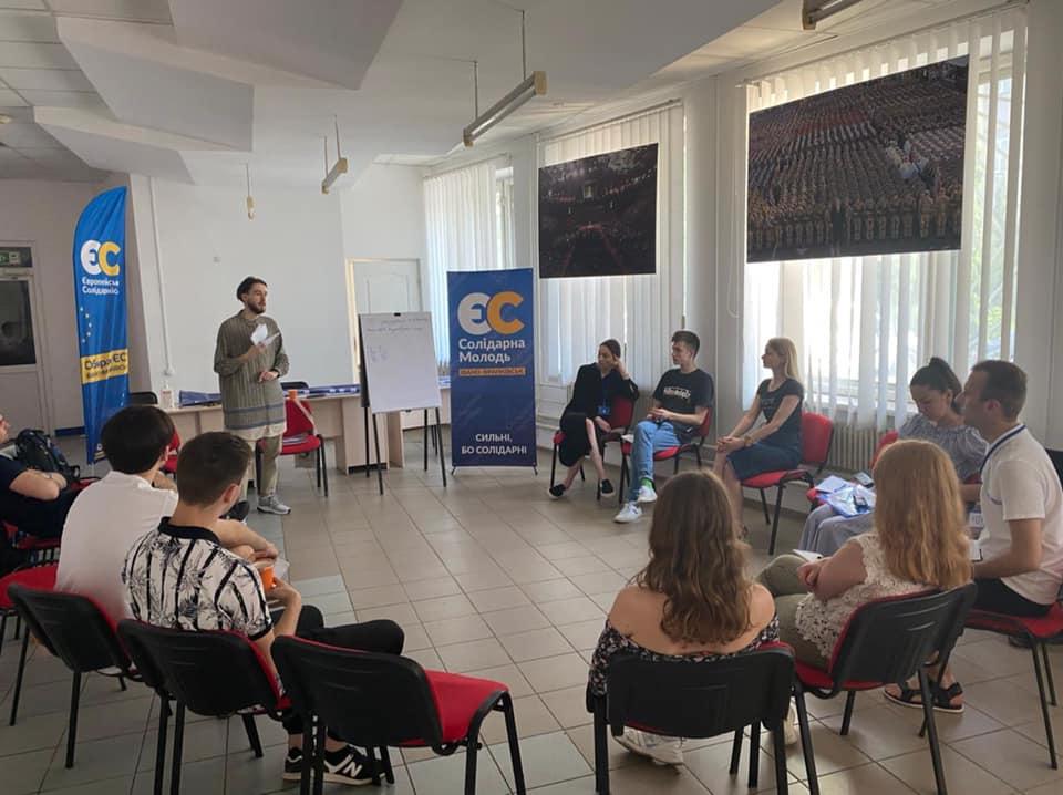 У Франківську провели дебатний табір Солідарної молоді «Debate UP» 2
