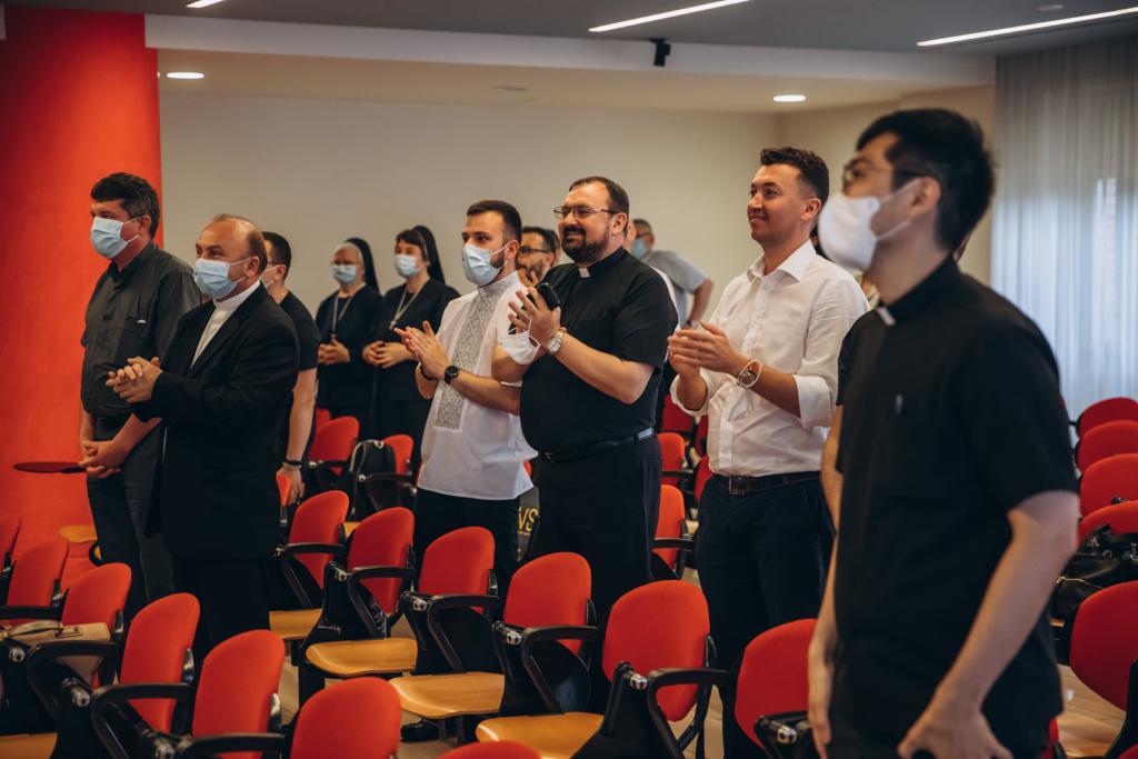 Священник з Франківська захистив докторську в Римі 2