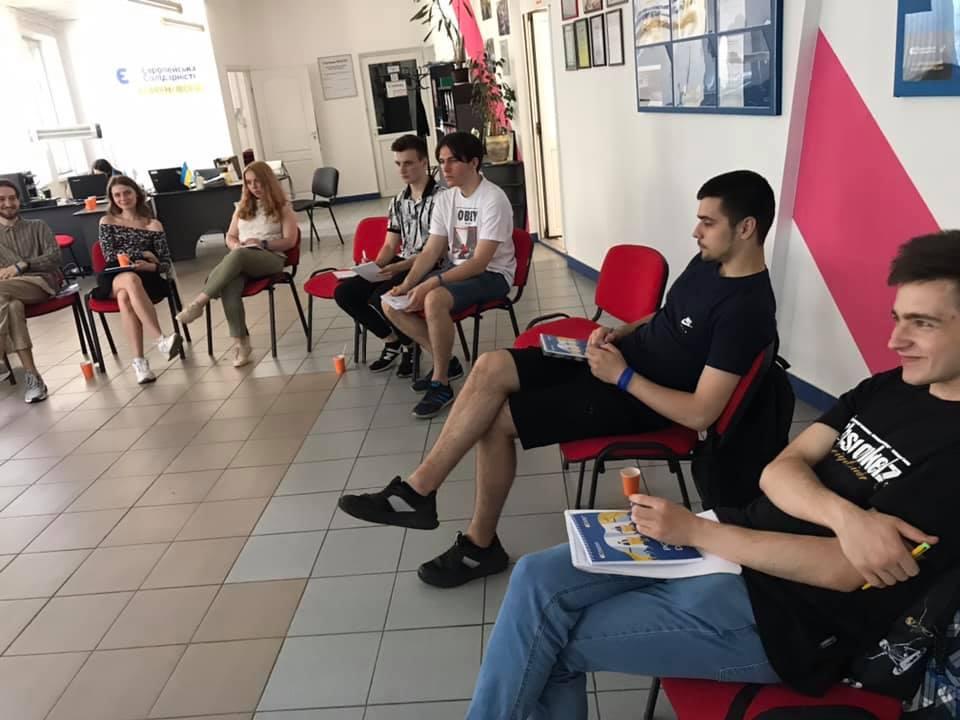 У Франківську провели дебатний табір Солідарної молоді «Debate UP» 4