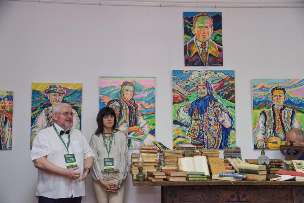 У Верховині презентували віднайдену бібліотеку Станіслава Вінценза 3
