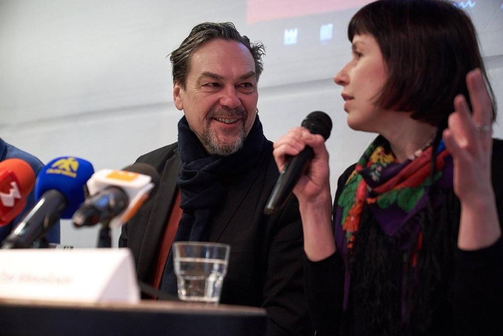 Ольга Михайлюк і Юрій Андрухович