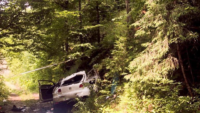 "У Яремчі ""Volkswagen Tiguan"" злетів в обрив – 4 загиблих 2"