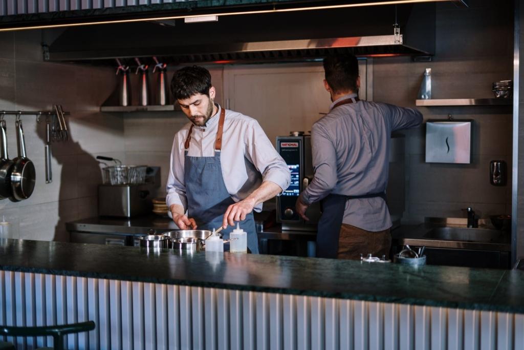 Розташування барної стійки на кухні